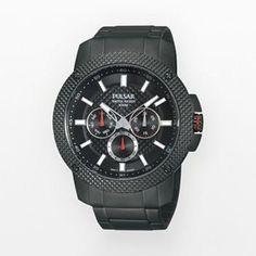 Pulsar Titanium Black Ion Watch - PP6103 - Men  About $140