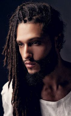 Male dreadlocks, their characteristics and photos of unusual options - short hair hairstyles - Male dreadlocks, their characteristics and photos of unusual options The Effective Pictures We Offe - Gorgeous Black Men, Beautiful Men, Stunningly Beautiful, Dreadlock Hairstyles For Men, Coiffure Hair, Natural Hair Styles, Short Hair Styles, My Hair, Hair Cuts