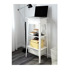 "49.99 Width: 17 3/4 "" Depth: 13 "" Height: 37 3/4 "" IKEA - IKEA PS 2014, Standing laptop station, , Cable outlets for easy cable management."