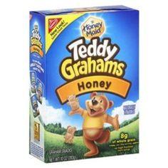 Nabisco Teddy Graham Honey Graham Snacks 10 oz