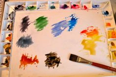 Want to try watercolor painting? Take these baby steps and soon you'll create your own. Things you'll need and how to use them. Step-by-step instructions for a basic landscape.
