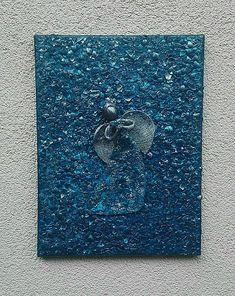 ednahandmade / Modrý anjel - obraz