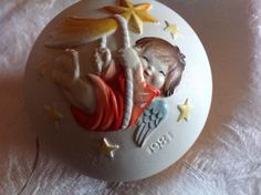 ANRI  Ferrandiz Hand carved Limited Edition 1981 Christmas Ornament