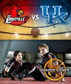 . 2 teams, UL and UK in the final four and 2 young Kentuckians in the biggest movie of the year> The Hungar Games