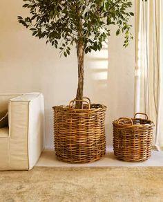 Zara Home Baskets, Home Decor Accessories, Decorative Accessories, Nouvelle Collection Zara, Zara Home España, Rattan Basket, Cookies Et Biscuits, First Home, Kids House