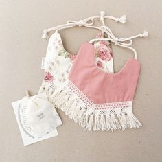Shabby chic baby clothes