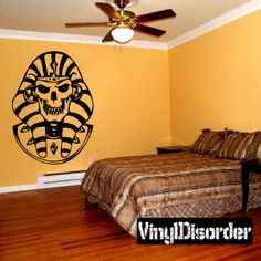 Skull Wall Decal - Vinyl Decal - Car Decal - SM045
