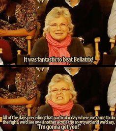 hahaha, I love her