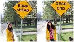 Couple creates funny infertility announcement photos to show support for people dealing with infertility.