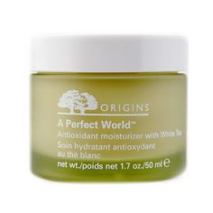 Origins Antioxidant Moisturizer with White Tea Check it out on my blog!  Www.hardwalktoafeatheredbed.com Affiliate link