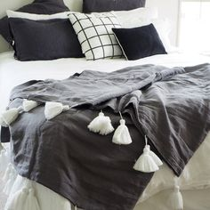 Linen Blankets from The Foxes Den