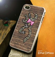 Browning Deer Camo iPhone 4 5 5c 6 Plus Case, Samsung Galaxy S3 S4 S5 Note 3 4 Case, iPod 4 5 Case, HtC One M7 M8 and Nexus Case