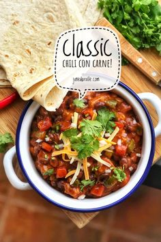 Chili Con Carne with Black Beans & Beef