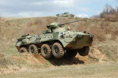BTR-82A Armored Personnel Carrier (Russia)
