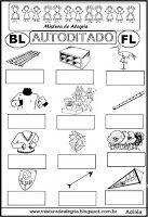 Livro Meus autoditados-palavras com fl e bl