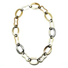 QueCraft Horn Chain Necklace - Q4147