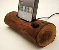 Sierra Redwood iPhone Dock