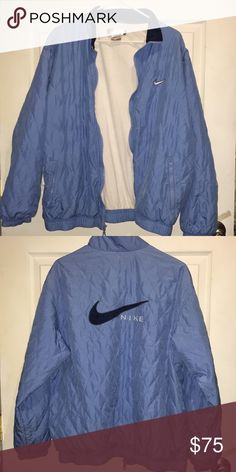 Vintage Nike Bomber I've worn this a couple of times, it really is a statement piece and it is very vintage and goes with mostly everything Nike Jackets & Coats