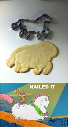 horse cookie fail