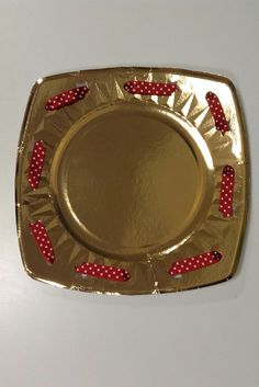 plato decorado - decorated plate