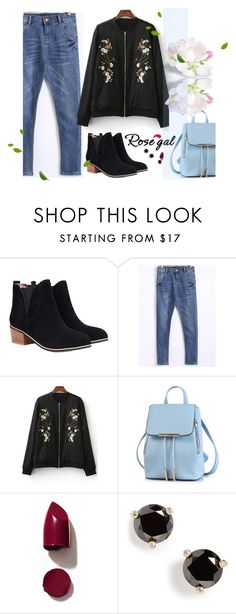 """""""Rosegal.com"""" by gabyidc ❤ liked on Polyvore featuring NARS Cosmetics and Kate Spade"""