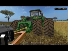 Farming simulator 17 Timelapse Australian x16 Map Broad acres Ep#1 - YouTube