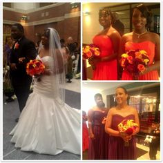 Ashley & Alexandria's bride Erica and her #bridesmaids were absolutely BEAUTIFUL!