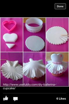 Ballerina Tutu Cupcake ...