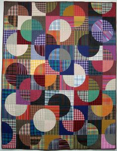 Second quilt finish for March 2017 | Exuberant Color | Bloglovin'