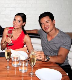 Courtney Mazza + Mario Lopez