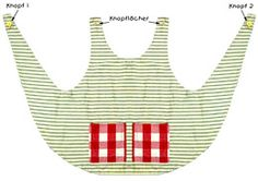 Apron for Pippi Longstocking Sewing Hacks, Sewing Tutorials, Sewing Crafts, Sewing Projects, Sewing Patterns, Sewing Aprons, Sewing Clothes, Doll Clothes, Sewing For Kids