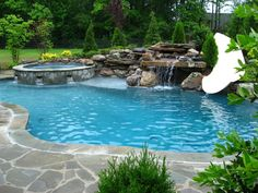 35 Modern Pool Deck Designs for Your Backyard. Patio and pool bars are an excellent spot. There lots of solutions that are excellent to keep to maintain your swimming pool deck space pleasurable yearl. Backyard Pool Landscaping, Backyard Pool Designs, Swimming Pools Backyard, Swimming Pool Designs, Landscaping Ideas, Hydrangea Landscaping, Luxury Landscaping, Driveway Landscaping, Backyard Ideas