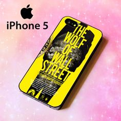 ER1387 The Wolf of Wall Street Iphone 5 Case | BirlynaCase - Accessories on ArtFire