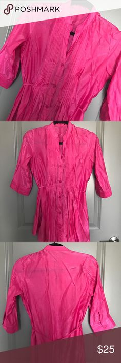 🍀🚨SALE/PRICE FIRM🚨PINK SATIN TUNIC 💗Condition: EUC, No flaws, no rips, holes or stains 💗Smoke free home 💗No trades, No returns 💗No modeling  💗Shipping next day 💗I LOVE OFFERS, offer me! 💗BUNDLE and save more 💗All transactions video recorded to ensure quality.  💗Ask all questions before buying (96) Tops Blouses