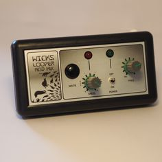 I've just made another Wicks Looper, this noise synth would make the perfect birthday gift.