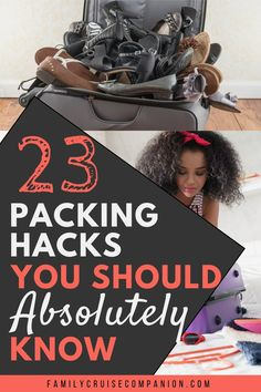 A few choice packing hacks will save time, space and money. Reduce stress and Improve the quality of your next trip with these travel packing tips. Weekend Trip Packing, Packing For A Cruise, Cruise Tips, Packing Tips For Travel, Travel Hacks, Travel With Kids, Family Travel, Driving Across Country, Packing Hacks
