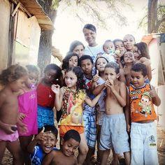 Crianças da comunidade Quilombo dos Palmares em Olinda.  #missões #crianças #social #olinda