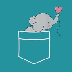 Wow An Elephant In My Pocket - NeatoShop