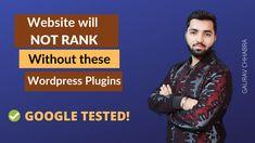 Gaurav Chhabra Digital - Website will not rank without these plugins Wordpress Plugins, Digital Image, It Works, Website, Google, Nailed It