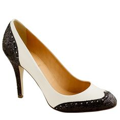 Aw. These spectator pumps remind me of my Mama. Back in the day, Julie and I thought she was such a foxy teacher, wearing those babies.