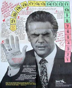 Robert Tilton (the farting preacher). In a world of scheming, money-hungry religion, he is one of the worst. .