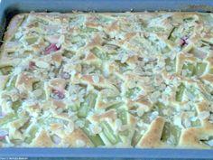Rhabarber-Buttermilch-Kuchen - Rezept - Bild Nr. 4