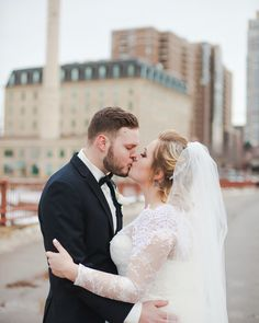 The most beautiful couple and the most beautiful city. | Minneapolis | Wedding | Marriage