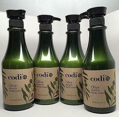 Codi Olive Hand & Body Lotion 25 fl oz 750ml 4 pc Review