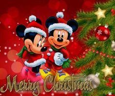 christmas greetings disney merry christmas disneyland christmas mickey mouse christmas mickey minnie - Mickey Merry Christmas