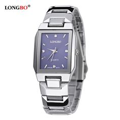$7.99 (Buy here: https://alitems.com/g/1e8d114494ebda23ff8b16525dc3e8/?i=5&ulp=https%3A%2F%2Fwww.aliexpress.com%2Fitem%2FLONGBO-luxury-brand-couple-watch-women-crystal-Stainless-steel-quartz-watch-Rectangular-Business-Men-s-Watch%2F32792152904.html ) LONGBO luxury brand couple watch women crystal Stainless steel quartz watch Rectangular Business Men's Watch relogio masculino for just $7.99