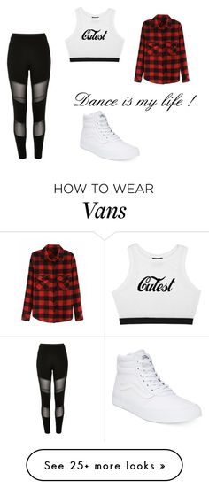 """Sans titre #98"" by littlestar-3 on Polyvore featuring River Island and Vans"