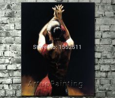 Spanish Flamenco Dancer painting latina woman Oil painting on canvas hight Quality Hand-painted Painting latina 03 Oil Painting On Canvas, Painting Frames, Flamenco Dancers, Original Paintings, Oil Paintings, Living Room Paint, Canvas Frame, Latina, Spanish