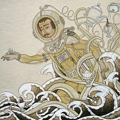 Sea and tea by Evan B Harris