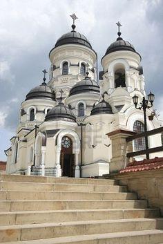 Christian Church From The Capriana Monastery In Moldova